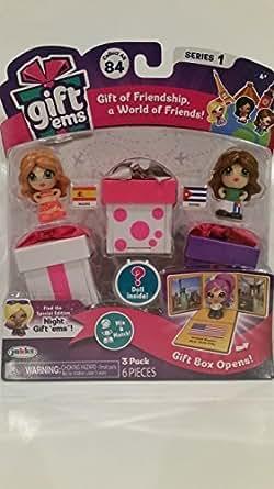 Gift 'ems Season 1 Toy Figure (3 Pack) Style 13 [並行輸入品]