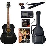 Sepia Crue アコースティックギター 初心者入門バリューセット フォークタイプ FG-10/BK ブラック