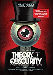 Theory of Obscurity: A Film About the Residents [Blu-ray] [Import]