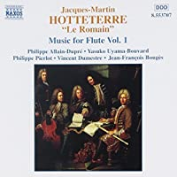 J. M. Hotteterre: Music for Flute, Vol. 1 (2000-10-05)
