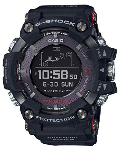 [해외][카시오] CASIO 시계 G - SHOCK 지샥 렌지만 태양 어시스트 GPS 네비게이션 GPR-B1000-1JR 남성/[Casio] CASIO Watch G - SHOCK G - Shock Range Man Solar Assisted GPS Navigation GPR - B1000 - 1JR Men `s
