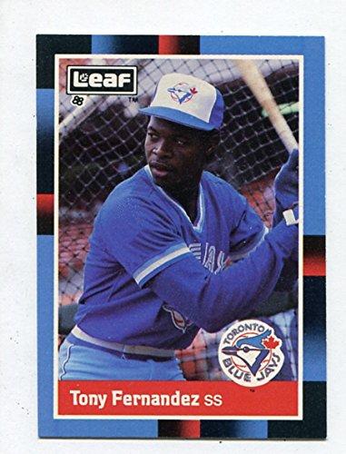 Tony Fernandez - 1988 Leaf #133 - 来日外国人(西武) トニー・フェルナンデス