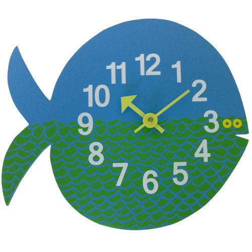 RoomClip商品情報 - ケイ・コーポレイション ジョージ・ネルソン 壁掛け時計 Zoo Timer Clock フィッシュ GN091102 943619
