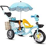 YUMEIGE 子供用三輪車 キッズ三輪車360ロック式安全柵ベビーカー積載量150kg 1?5歳の誕生日プレゼント 得ることができます