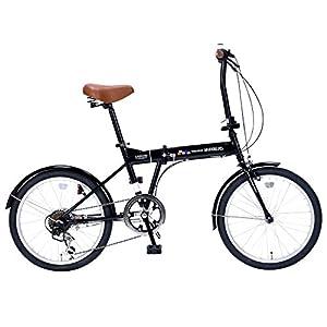 My Pallas(マイパラス) 折畳自転車20インチ・6段ギア M-208 ブラック