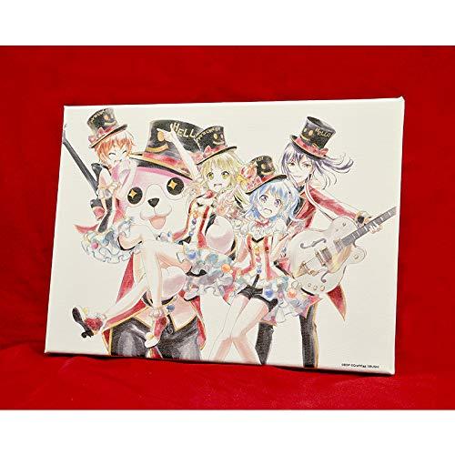 バンドリ! ガールズバンドパーティ! Ani-Artキャンバスアート ハロー、ハッピーワールド!
