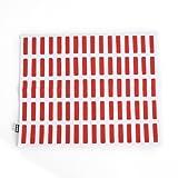(アルテック) artek SIENA(シエナ) ランチョンマット/テーブルマット 560515 WHITE/RED [並行輸入品]