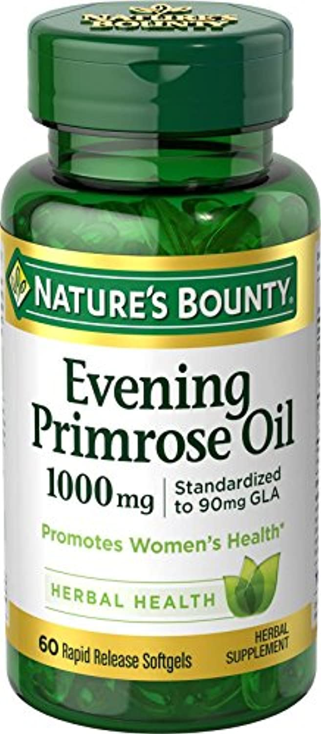 海外直送肘 Natures Bounty Evening Primrose Oil, 1000 mg, 60 caps