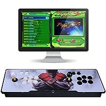 [英語版]ビデオゲームコンソール、Arcade アーケードゲーム機 本体 アーケードゲーム 筐体 基板 1299クラシックゲーム、アーケードゲーム 実機 2プレイヤーパンドラのボックス5Sマルチプレイヤーアーケードコンソール1299ゲームオールインジャマーのPCBダブルスティック最新のデザインボタンパワーHDMI、アーケードゲームマシンコレクション