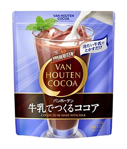 バンホーテン 牛乳でつくるココア 1 袋(200g)