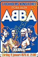Journal: ABBA Swedish Pop Group Music Band Worldwide Greatest Hits (ABBA Gold) Mamma Mia!, Inspirational Quote, Soft Glossy with Ruled lined Paper for Taking Notes, Journals Graph Paper Composition Notebook, Diary • One Subject 6 x 9 • 110 Pages