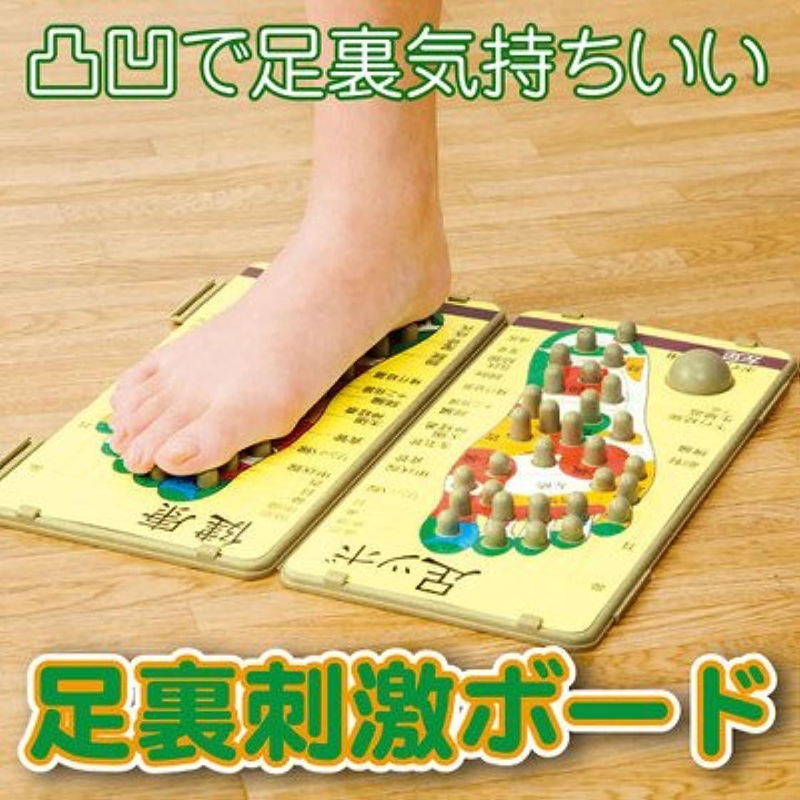 足裏刺激ボード 足裏刺激で痛気持ちいい