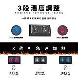 電熱ベスト 電熱ジャケット ホットベスト ダブルスイッチ加熱服 前後独立温度設定可能 USB充電式 温度3段階調整 保温 防寒 加熱服 水洗い可能 アウトドアの防寒対策 男女兼用 画像