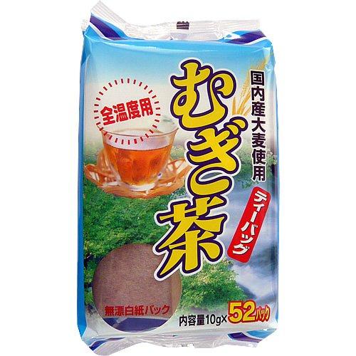 みどり園 国内産麦茶 10g×52包