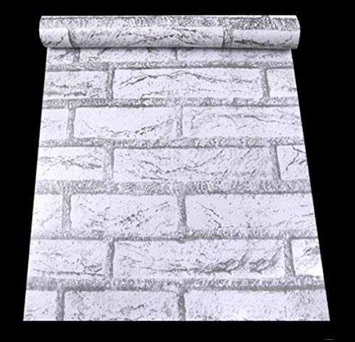 【DIY 壁紙シール】 レンガ かんたん貼付シールタイプ 45cm×10m リフォーム ウォールステッカー 防水 ...