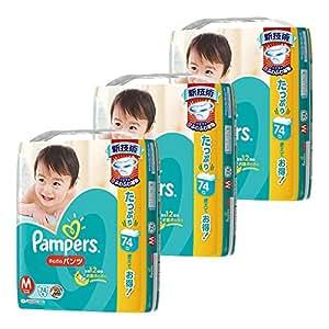【パンツタイプ】パンパース パンツ  ウルトラジャンボ M 222枚(74枚×3個) (パンツタイプ)