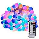 LEDイルミネーションライト Sunnest ストリングライト 100球10m 電池式 防水 リモコン付き8モード 飾り用クリスマス