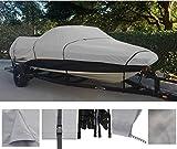 グレー、ストレージ、旅行、Mooringボートカバーfor Nitro 929CDX 00010203040506