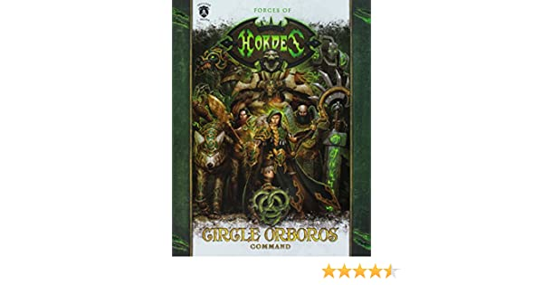 Book Kit PIP1092 Privateer Press Hordes Forces of Hordes Circle of Orboros Command Sc
