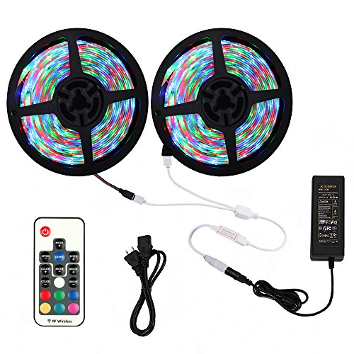 LEDテープライト 防水 RGB SMD2835 10M/600led 高輝度 切断可能 LEDテー...
