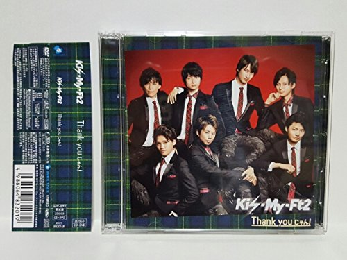 【即決!!】Kis-My-Ft2★Thank Youじゃん!★セブン&アイ盤 CD+DVD