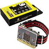 KEYESTUDIO BBC Microbit Power Board Starter Kit Smart Watch Coding Kit for Micro bit V1 V2(Not Included) for Beginners Kids