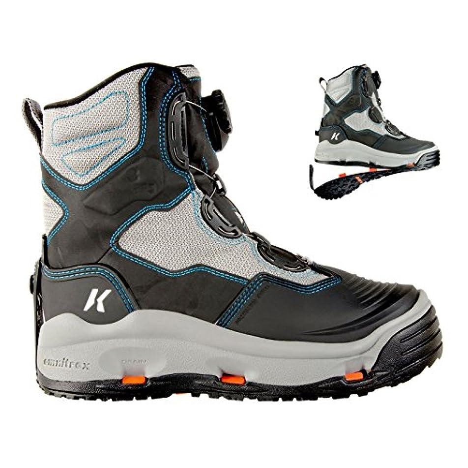 機関アプト眠りKorkersレディースDarkhorse Wading Boots Womens 11フェルト& kling-on