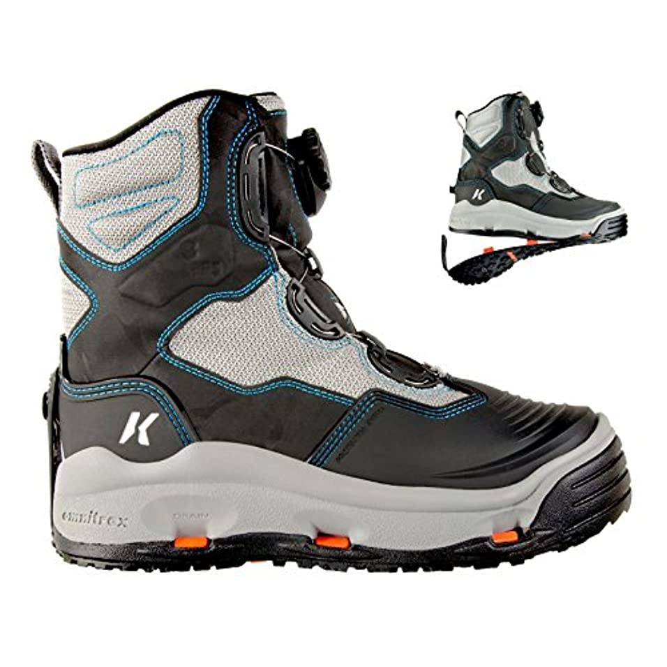 有限国家れるKorkersレディースDarkhorse Wading Boots Womens 11フェルト& kling-on