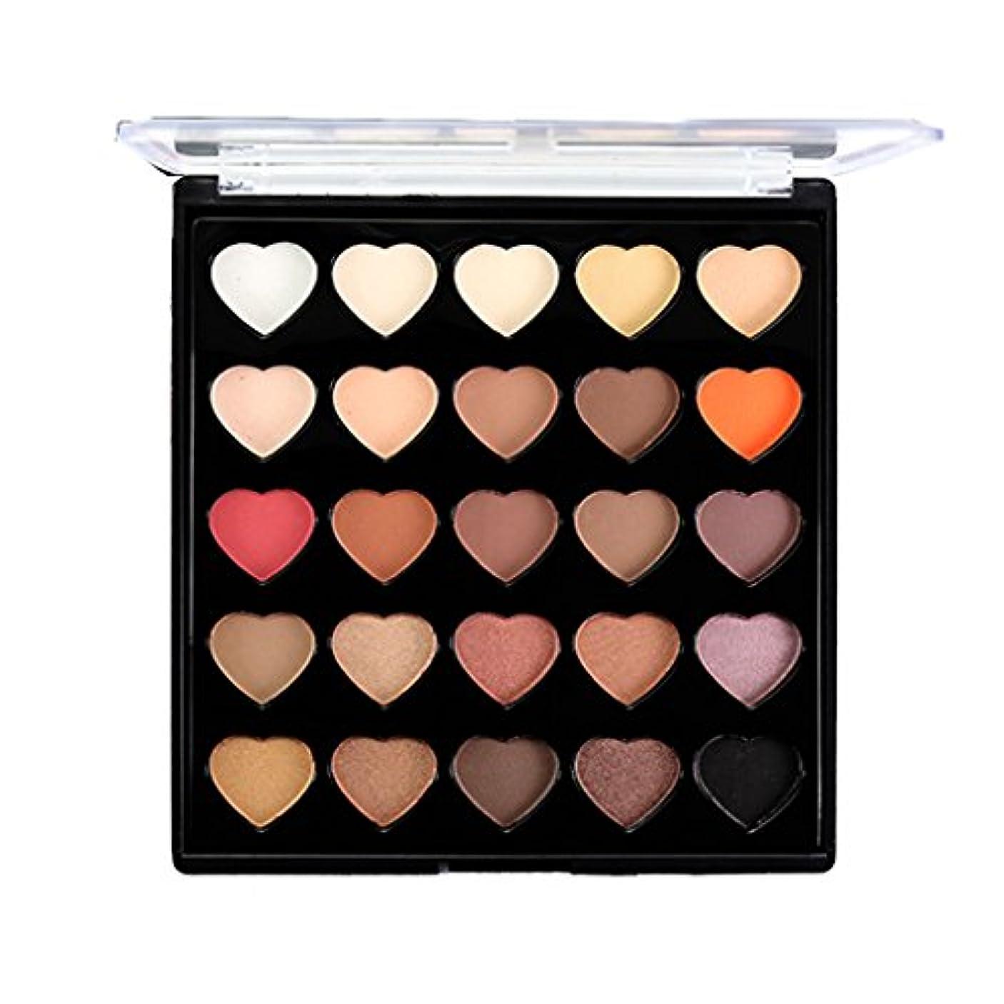 うぬぼれ同志工業用アイシャドウ パレット 25色 化粧パレット メイクアップ アイメイク 全2種類 - #1