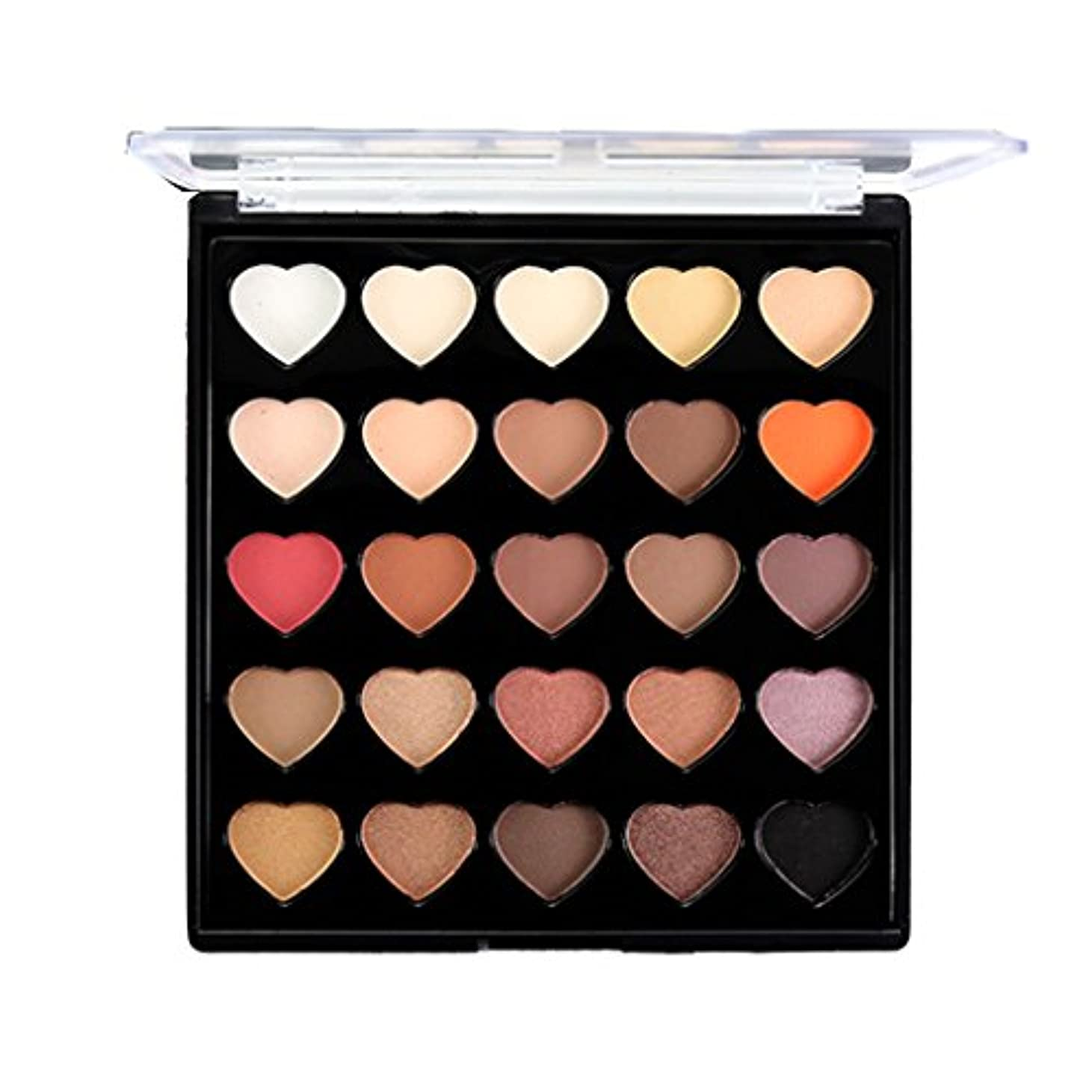 資格パテお手入れアイシャドウ パレット 25色 化粧パレット メイクアップ アイメイク 全2種類 - #1