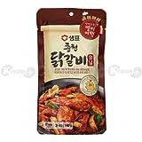 [0591] 泉標 セムピョ 春川 タッカルビ ソース 韓国料理 鶏肉 タレ 1袋 180g [並行輸入品]