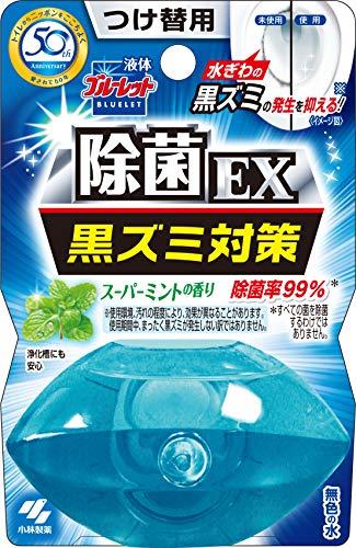 液体ブルーレットおくだけ除菌EX トイレタンク芳香洗浄剤 詰め替え用 スーパーミントの香り 70ml