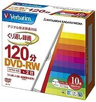 (まとめ買い) 三菱化学メディア 録画用DVD-RW X2 10枚ケース VHW12NP10V1 【×3】