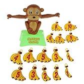 【ノーブランド品】猿 数学 ゲーム バランス バナナのおもちゃ 知育学習 家族 楽しみ セット
