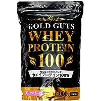 【Amazon.co.jp限定】GOLD GUTS ゴールドガッツホエイプロテイン100 ストロベリー味 1000g