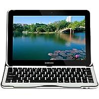 【Sharon】 Galaxy Tab 10.1 10.1N P7500 P7510 Galaxy Tab 2 P5100 P5110 アルミ製ケース Bluetoothキーボード搭載 (英語レイアウト) 【new】 日本語取扱説明書対応 (PDF)