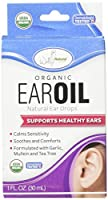 海外直送品Wallys Natural Products Organic Ear Oil, 1 Oz