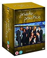 Private Practice - The Complete Collection Season 1-6 [DVD] [Import]