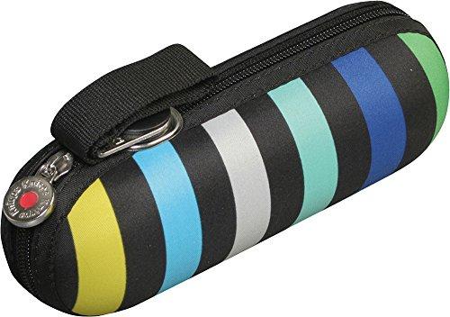 Knirps 折りたたみ傘 ラウンドケース入り 【正規輸入品】 X1 Stripe Blue KNX811-495-1