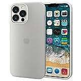 エレコム iPhone 6.7inch シリコンケース マットクリア PM-A21DSCCR