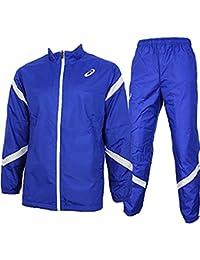 アシックス(asics) ウインドジャケット&ウインドパンツ 上下セット(ブルー/ブルー) XA732N-45-XA772N-45