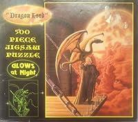 Dragon Lord 500ピースグローin theダークパズル