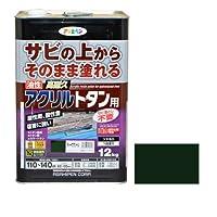 油性高耐久アクリルトタン用 12kg ディープグリーン 【まとめ買い3缶セット】