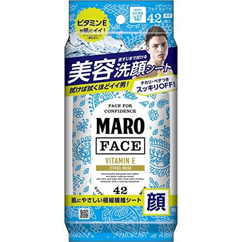 MARO デザイン フェイスシート ペイズリー 42枚