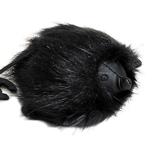 (シーバイクロエ) SEE BY CHLOE キーホルダー アクセサリー キーリング ファー チャーム JOY RIDER HEDGHOG KEY RING はりねずみ 9K7198 P19 001 BLACK ブラック バッグチャーム