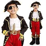 パーティーフリークGO!GO! 海賊 豪華 衣装 フルセット 子供 コスプレ (Lサイズ) a419b