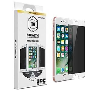 Patchworks iPhone7 iPhone6s ガラスフィルム ITG Stealth 【 のぞき見防止 強化ガラス 9H オンライン専用パケ 】 アイフォン 7 6s 6 ガラスフィルム
