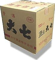 大七酒造 福島県 純米酒 「大七純米生元」 720ml (カートンなし)12本入り 1箱