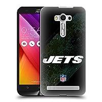 オフィシャル NFL ブラー ニューヨーク・ジェッツ ロゴ Zenfone 2 Laser ZE550KL 専用ハードバックケース