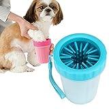 犬 足洗い ブラシカップ 最新バージョン ペット足用クリーナー 愛犬のお散歩帰りのかんたん足洗い (M-L)